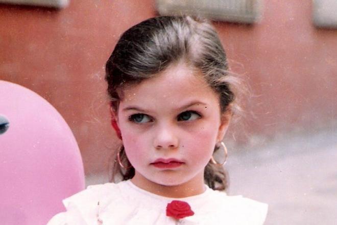 Пелин Карахан в детстве
