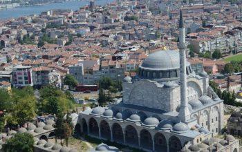 Мечеть Михримах султан в Эдирнекапы 1